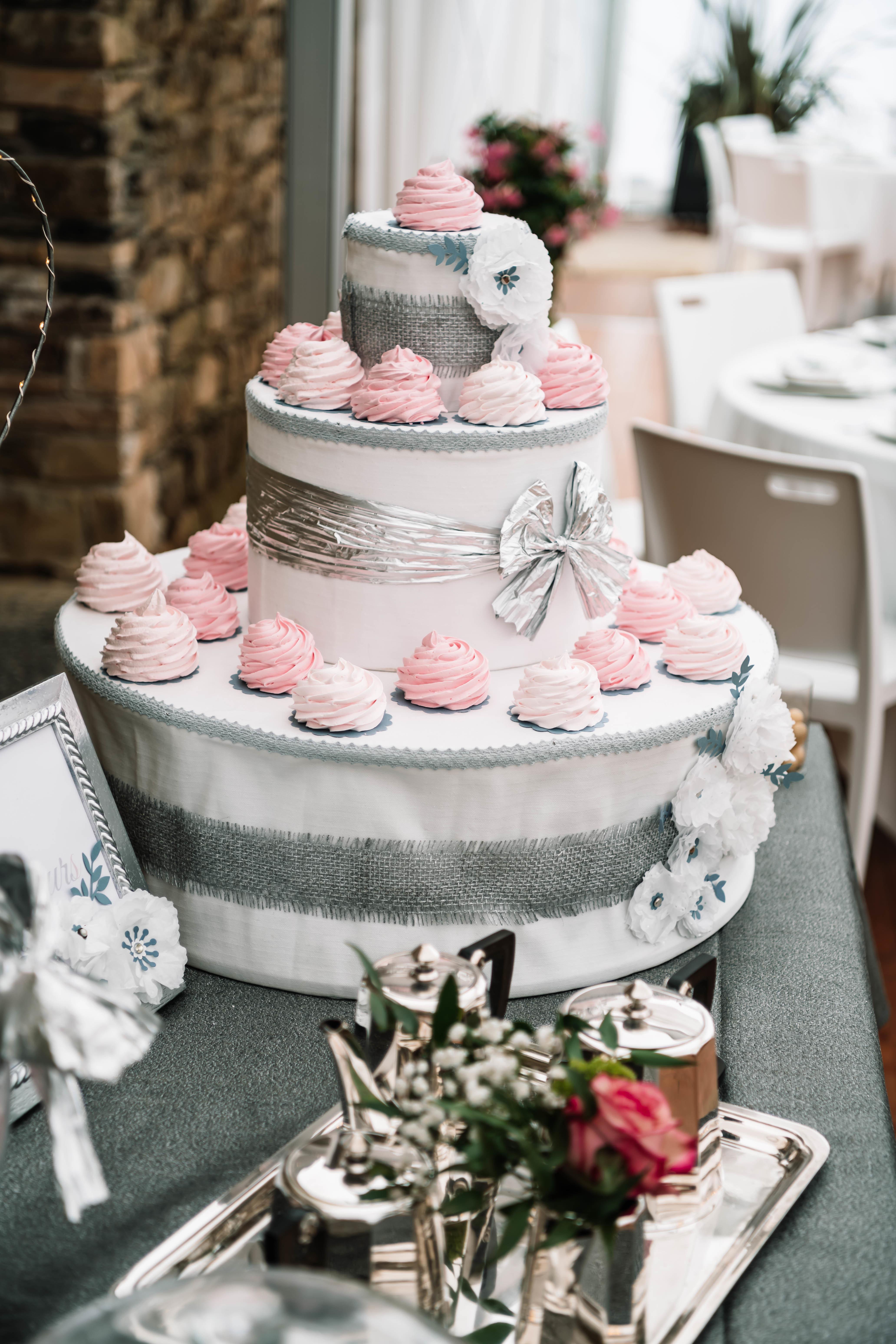 Gâteau réalisé par Soeurettes & Co